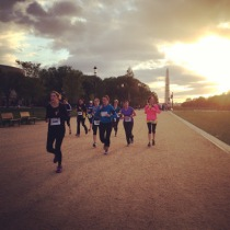 From DC, with love. The Run for Boston, 4/23/13