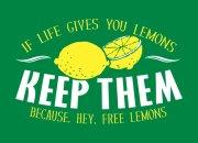 Fuckin' love lemonade.